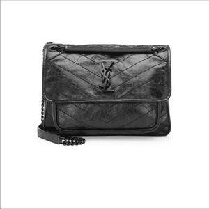 YSL Yves Saint Laurent Niki Medium Bag Black